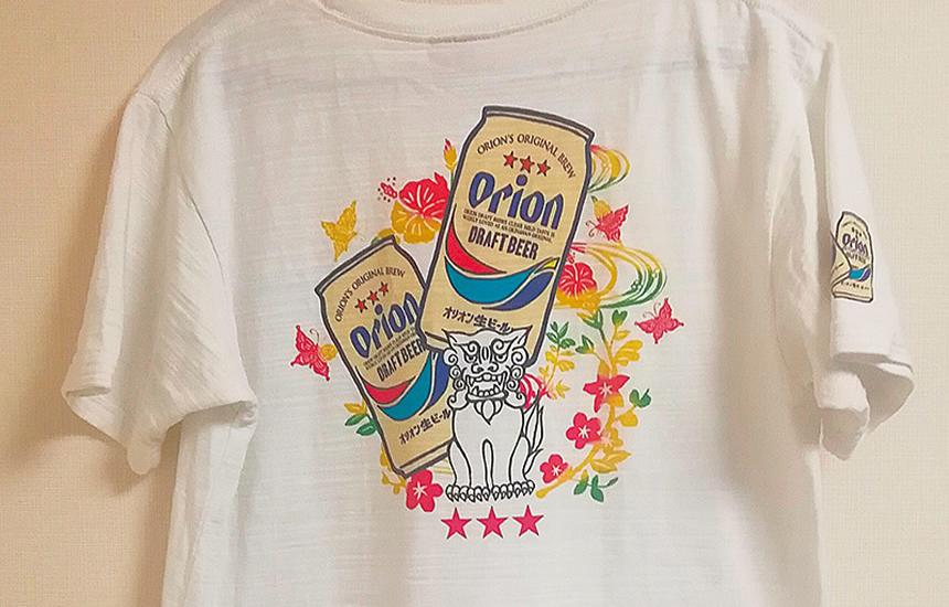 オリオンビールのTシャツ