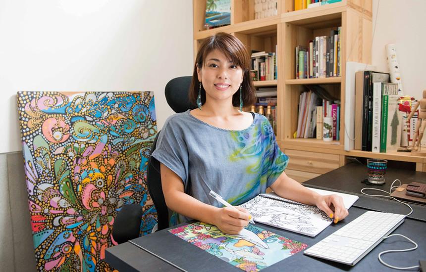 イラストレーター/アーティスト pokke104 池城由紀乃